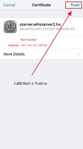 Trust Server Identity